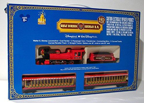 Walt Disney World RR HO Scale Main St Train Set wEXTRA track