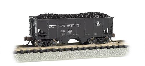 Bachmann Industries USRA 55-Ton 2-Bay Hopper B and O Train Car N Scale