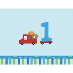 1st Birthday - Boy Invitations - 8 Count