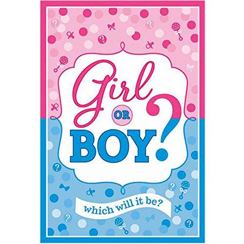 Baby Shower Girl or Boy Invitations w Envelopes 8ct