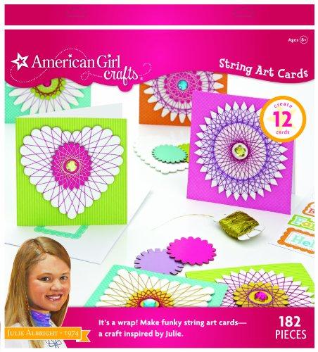 American Girl Crafts Art Kit Julie Albright String Cards