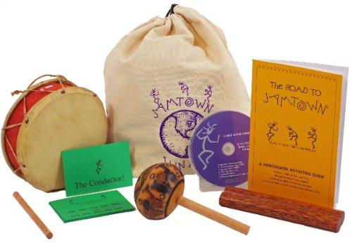 Childrens Musical Instrument Starter Set - Instruments Instructions CD