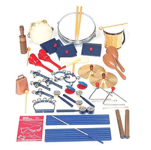 Rhythm Band School Children Musical Instruments 25-Player Special Variety Set