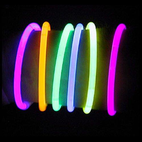 100 10 Premium Lumistick Glow Stick Bracelets Assorted