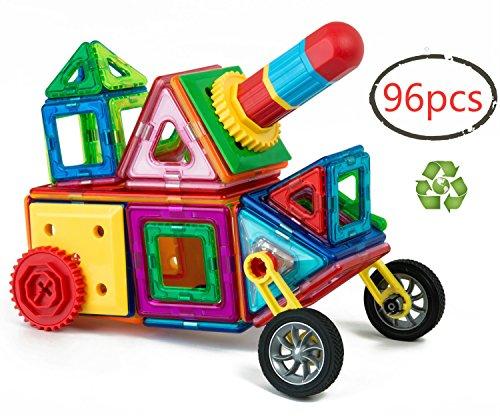 Children Hub 96pcs Magnetic Building Blocks Set Educational Toys For Kids