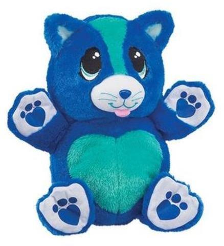 Blue Kitty Ball Pet Plush Toy Case Pack 6  Kid Toy  Hobbie  Nice Gift
