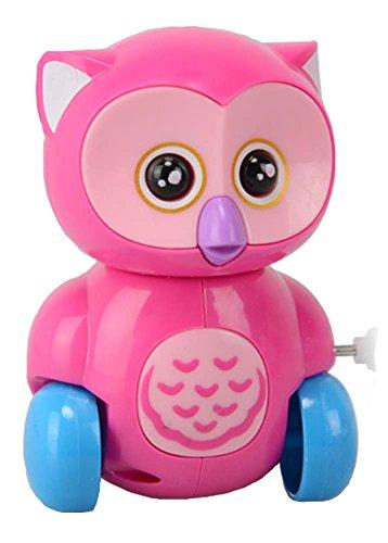 Owl Clockwork Toy Wind Up ToyColor sent in random