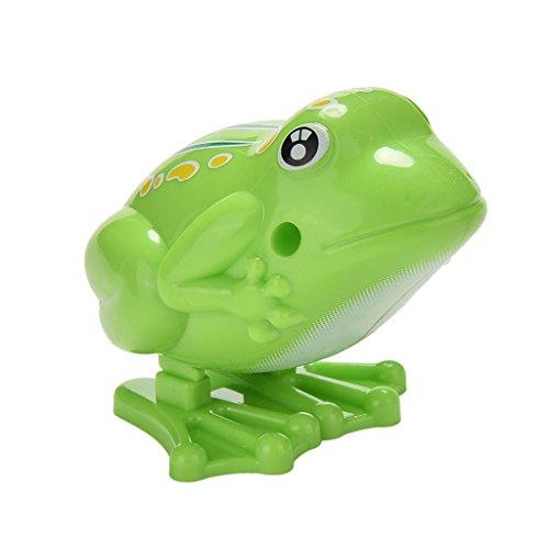Wind Up Clockwork Frog Kids Toy Collectibles