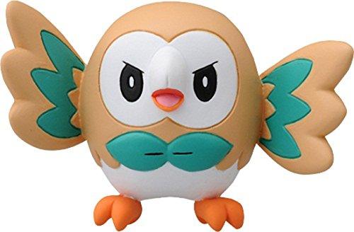 Takaratomy EX EMC-02 Pokemon Rowlet Mini Action Figur 15-Inch