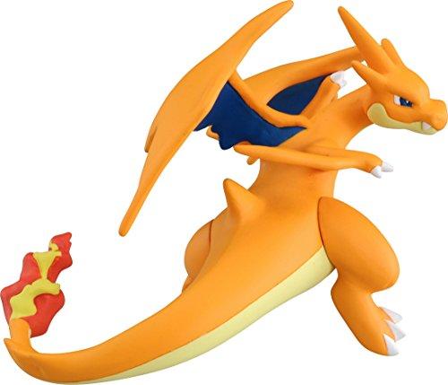 Takaratomy Official Pokemon X Y SP-38 Mega Charizard Y Dragon Tail Action Figure