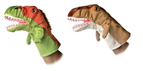 Aurora Bundle of 2 10 Dinosaur Hand Puppets