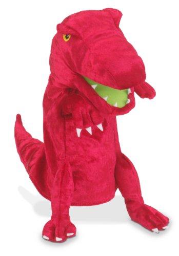 Dinosaur Hand Puppet Red