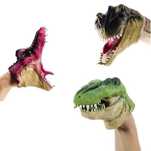 Dinosaur Hand Puppet Sold Individually - Styles Vary