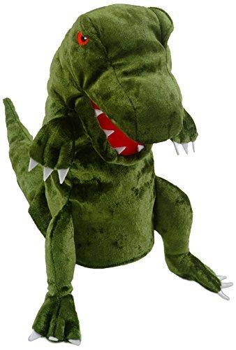 Fiesta Crafts Dinosaur Hand Puppet Green by Fiesta Crafts