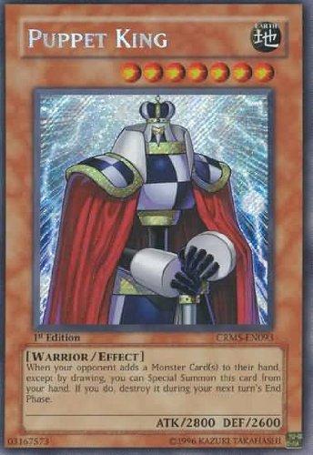 Yu-Gi-Oh - Puppet King CRMS-EN093 - Crimson Crisis - Unlimited Edition - Secret Rare