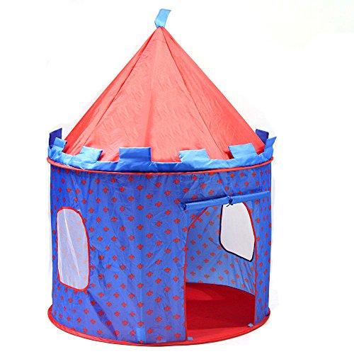 SueSport Boys Prince Castle Play Tent Children Play Tent
