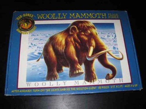 Glo-Bones Woolly Mammoth 48 Piece Floor Puzzle