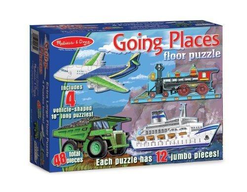 Going Places 48-Piece Floor Puzzle