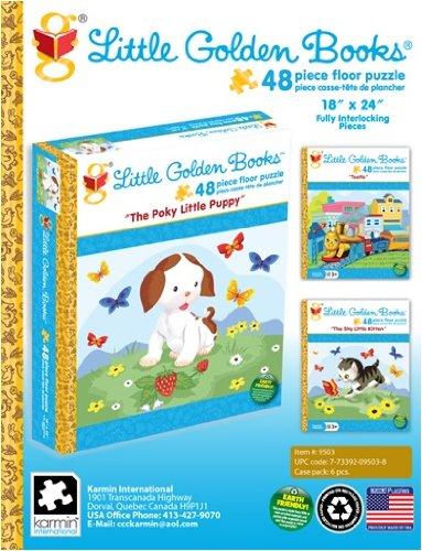 Karmin International Little Golden Books 48-Piece Floor Puzzle Styles May Vary