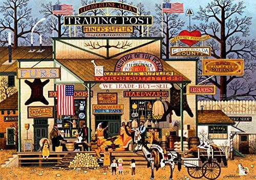 Buffalo Games Charles Wysocki Timberline Jacks Large Jigsaw Puzzle 300 Piece