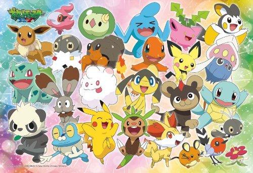 Ensky Pokemon XY Good Friends Jigsaw Puzzle 108-Piece Large