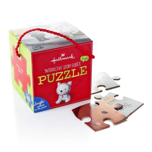 Hallmark Jingle the Husky Pup Interactive Puzzle