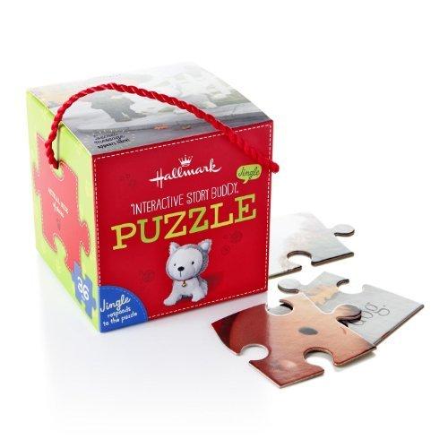 Hallmark Jingle the Husky Pup Interactive Puzzle by Hallmark