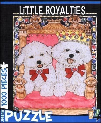 Little Royalties Bichon Frises 1000 Piece Puzzle by Gift Item