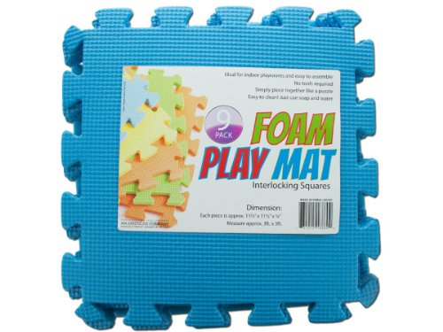 Bulk Buys Interlocking Foam Play Mat Set of 12