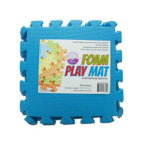 Kole Imports OC107 Interlocking Foam Play Mat 11 12 x 11 12 x 14
