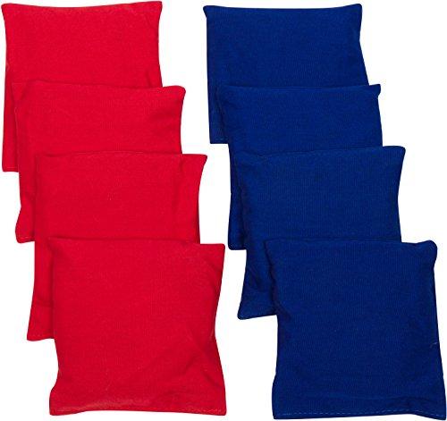 Trademark Innovations Starter Set Cornhole Bean Bags 8 Set RedBlue 6