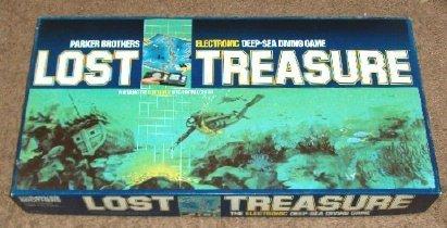 Lost Treasure Electronic Deep-Sea Diving Game