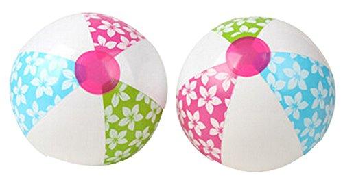 Set of 2 Childrens Beach Toys Inflatable Beach Ball Play Water Beach Ball