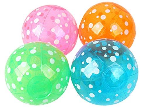 Set of 4 Childrens Beach Toys Inflatable Beach Ball Play Water Beach Ball
