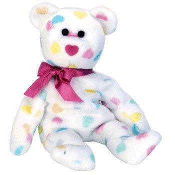 Ty Beanie Babies Kissme - Valentines Bear