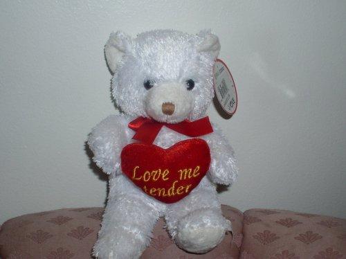 LOVE ME TENDER MUSICAL TEDDY BEAR