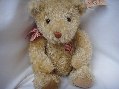 Traditional Teddy Bear Valentine Beanie Plush Toy 15  Hucklebeary