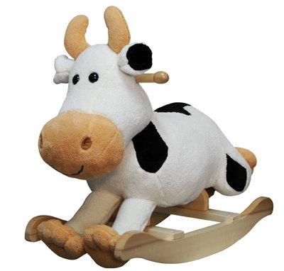 Anatex - Cow Plush Rocker