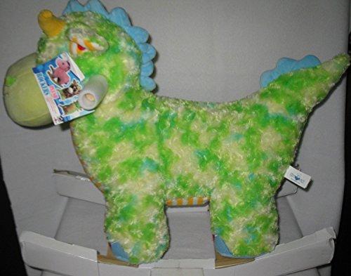 Dinosaur Animal Plush Rocker Chair with Melody
