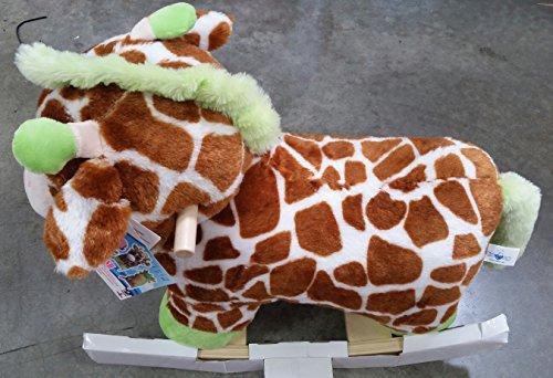 Giraffe Animal Plush Rocker Chair with Melody