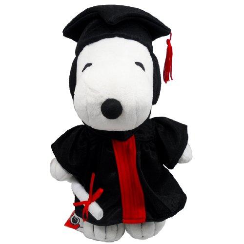 Peanuts Plush Snoopy Graduation Gifts Plush Doll 10