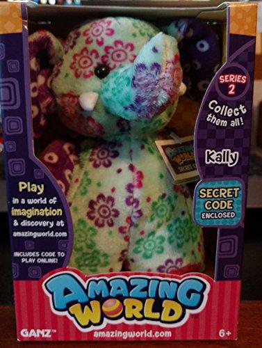 Amazing World Series 2 Kally the Elephant Interactive Plush Toy - 55