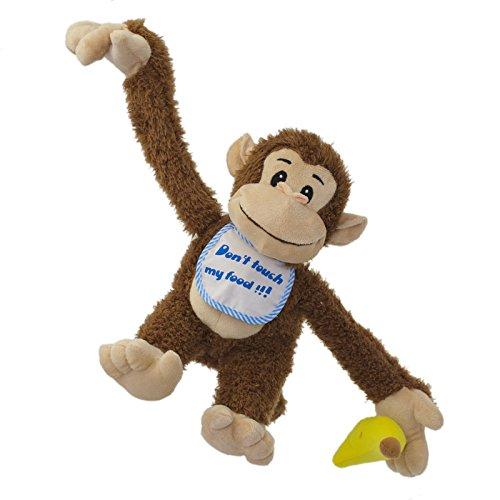 Funny Monkey - Interactive Plush Dont take away his banana -