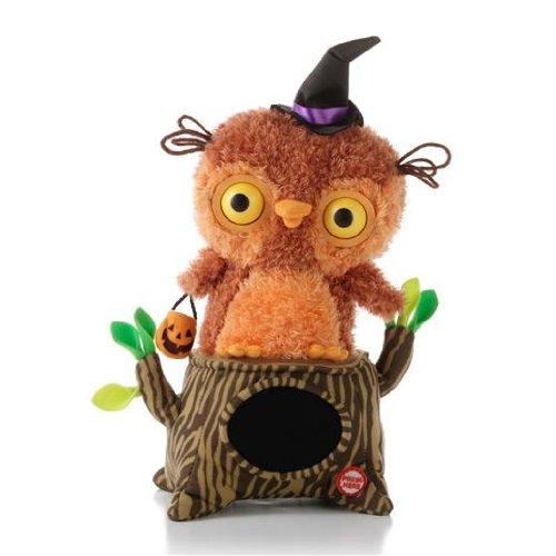 Hallmark Whoos Watching Me Singing Owl Interactive Plush