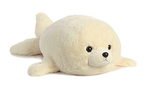 Aurora World Super Flopsie Baby Harp Seal Plush
