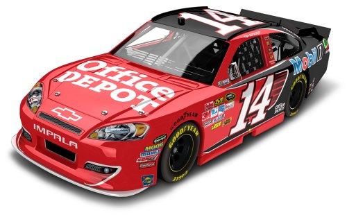 Tony Stewart 14 Office Depot 2012 Chevy NASCAR Diecast Car 124 Scale HO