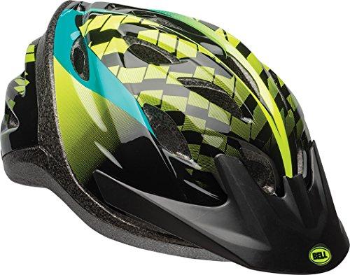 Bell Axel Youth Bike Helmet Emerald Hyperactive