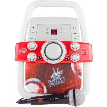 Flashing Bar Kids Karaoke Machine The Voice