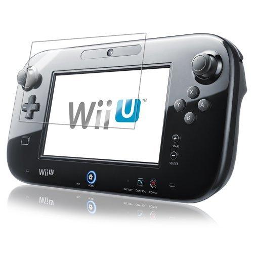 Nintendo Wii-U GamePad Screen Protector IQ Shield LiQuidSkin 2-Pack Full Coverage Screen Protector for Nintendo Wii-U GamePad HD Clear Anti-Bubble Film - with Lifetime Warranty by IQShield