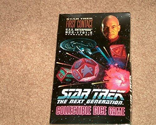 Star Trek the Next Generation Collectable Dice Game USS Enterprise NCC-1701E Starter Set by Starter Set